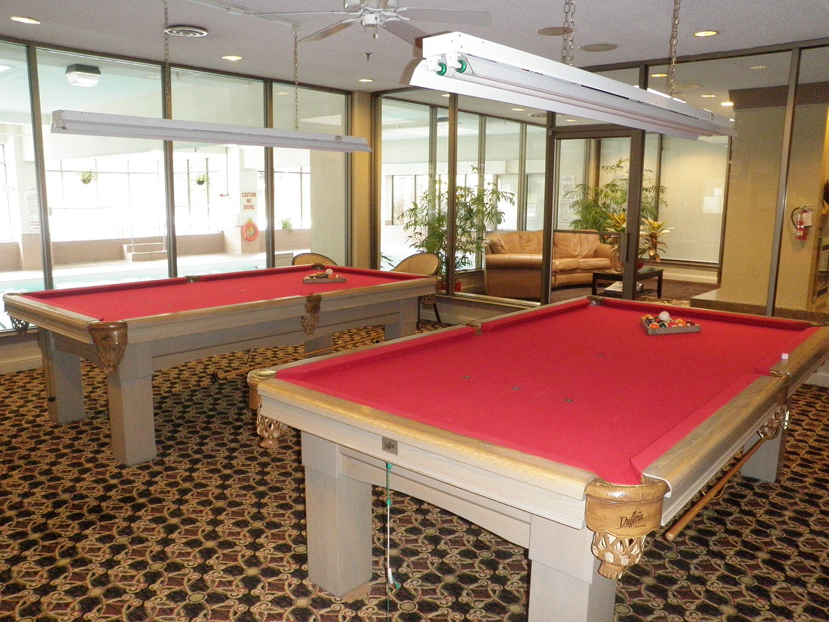 Billiards Room in Discovery Place 1880-1890 Valley Farm Rd Pickering Condo