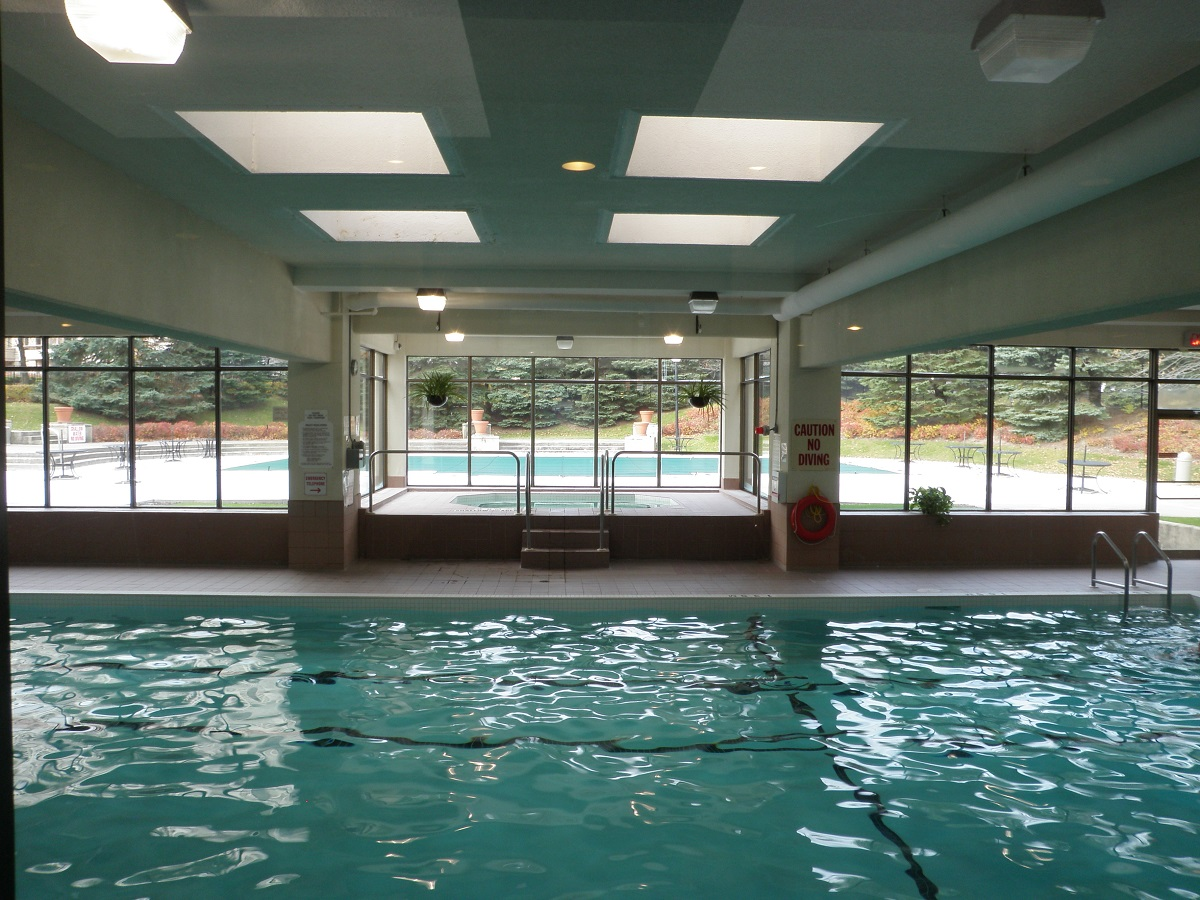 Indoor Pool Discovery Place 1880-1890 Valley Farm Rd Pickering Condo
