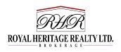 Logo for Royal Heritage Realty Ltd, Brokerage on Ryan Taylor Durham Homes Website
