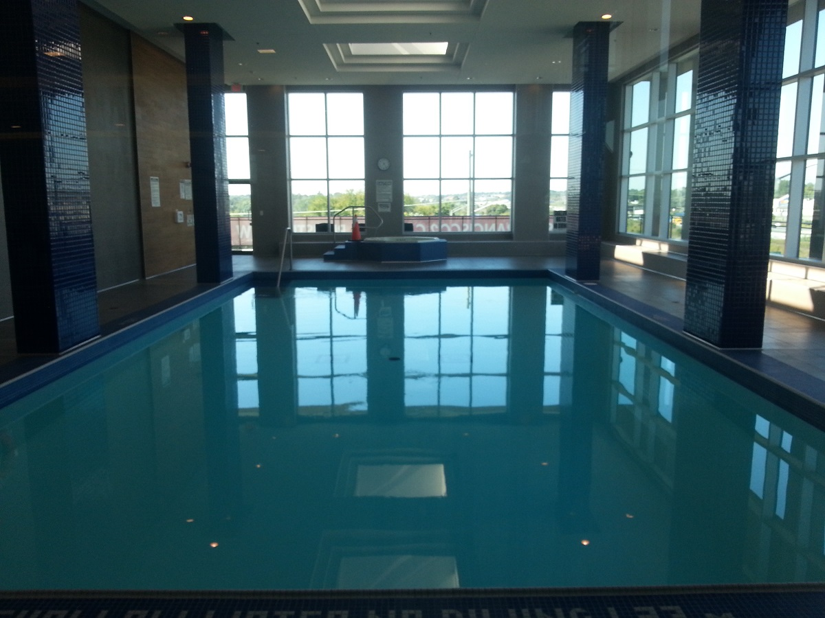 Indoor Pool San Francisco by the Bay 1235 Bayly St Bay Ridges Pickering Condo in Durham