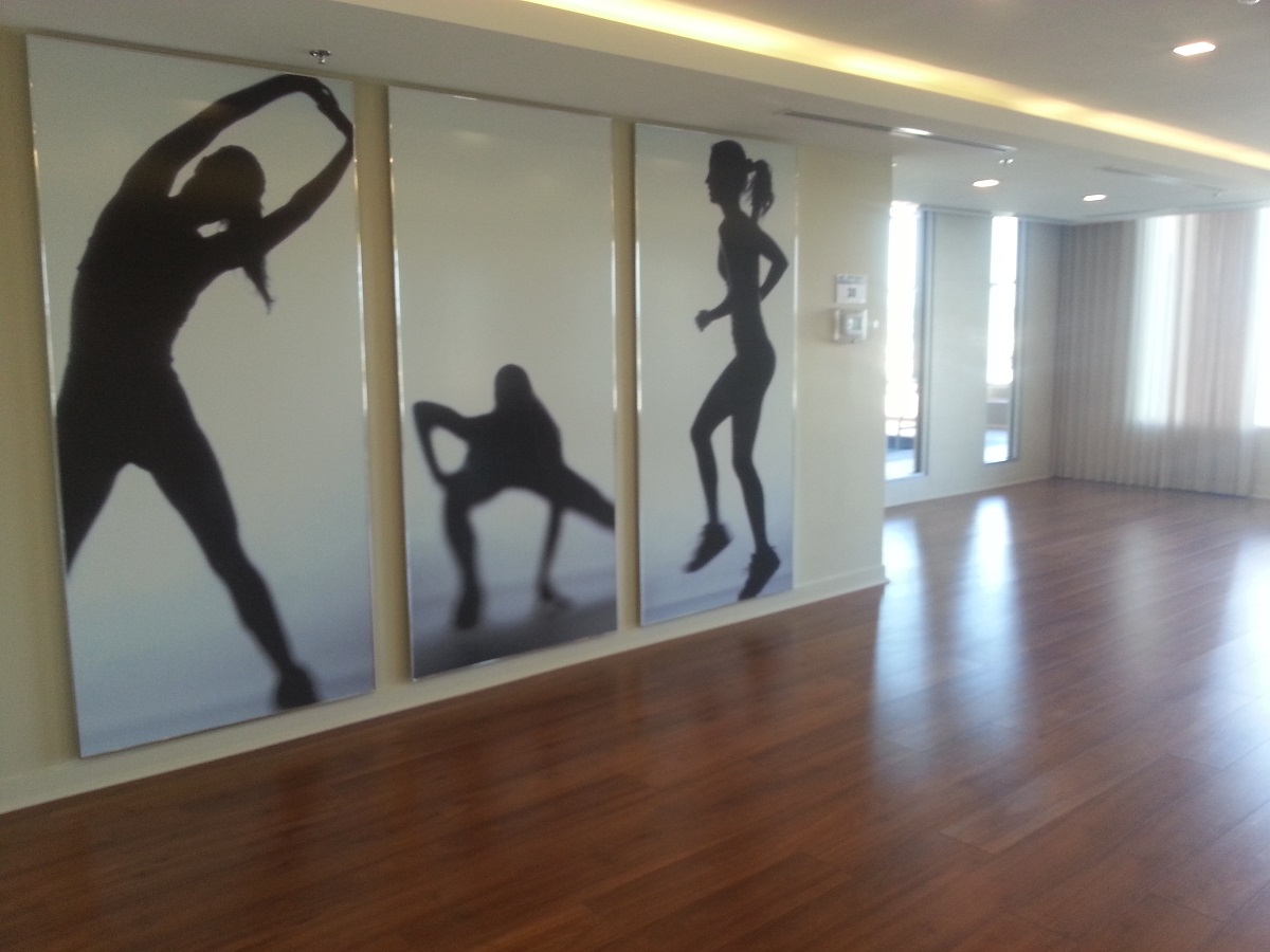 Exercise Room San Francisco by the Bay 1235 Bayly St Bay Ridges Pickering Condo in Durham