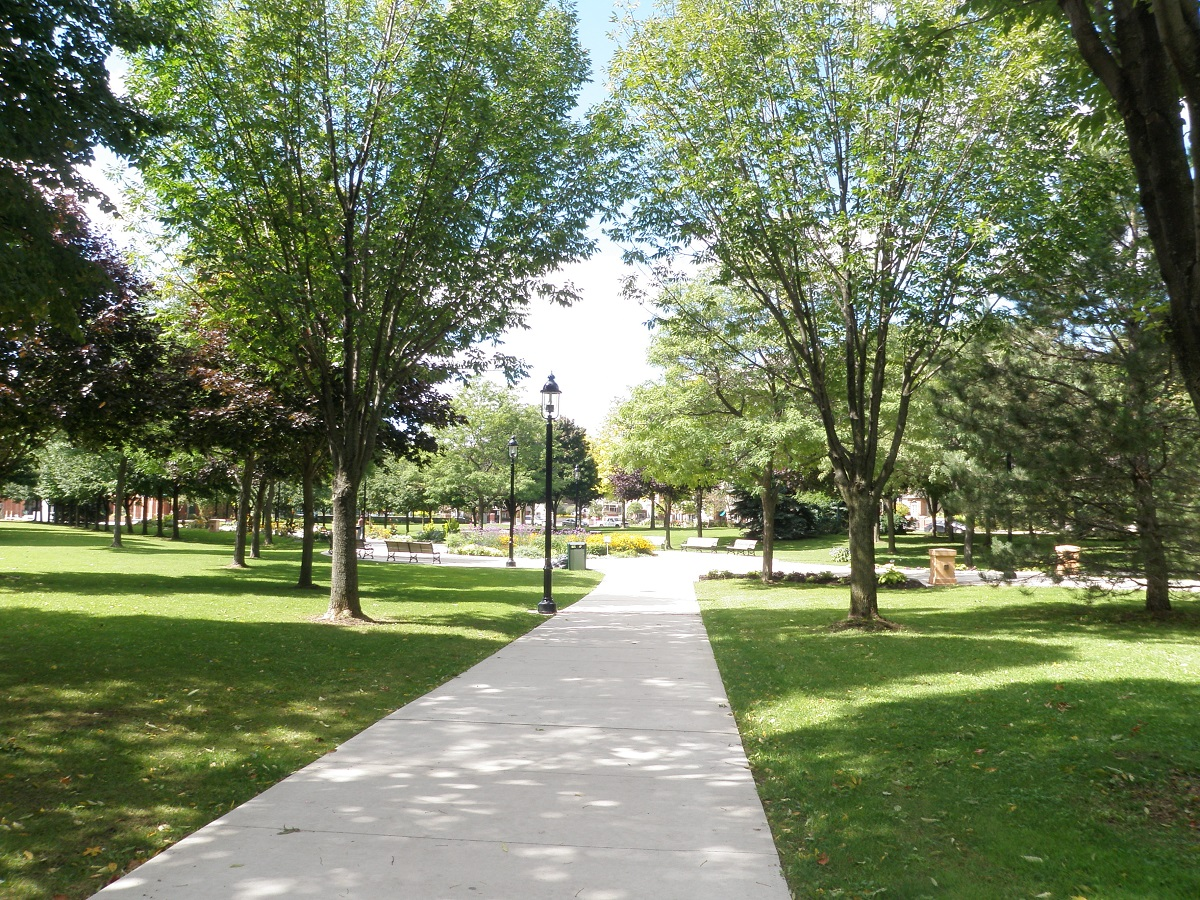 The Esplanade Park in Town Centre Community in Pickering