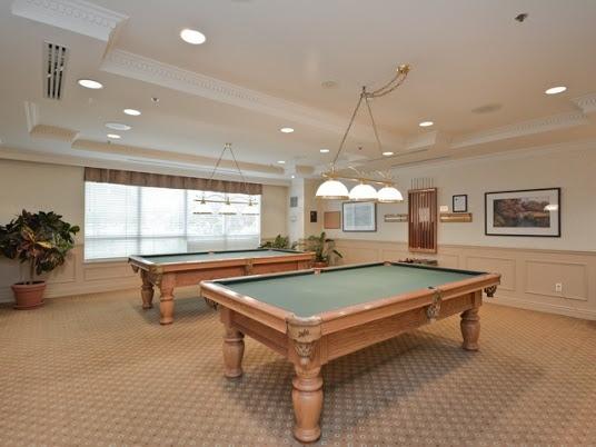 Billiards Room in 1200 The Esplanade Rd The Liberty Condo in Pickering