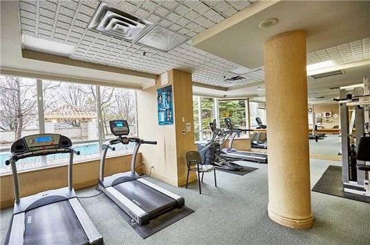 Gym in 1200 The Esplanade Rd Condo in Pickering