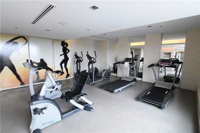 Gym at 1215 & 1235 Bayly St San Francisco by the Bay Condos in Pickering