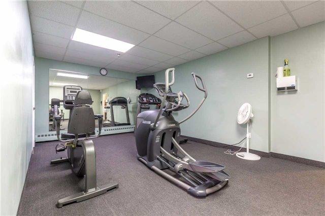 Gym Exercise Room in 1210 Radom St Bay Ridges Pickering Condominium