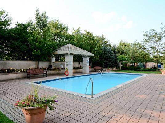 Outdoor Pool at 1200 The Esplanade Pickering Condominium
