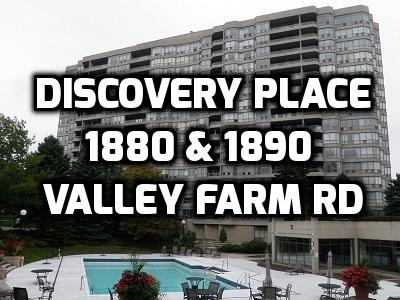 View Discovery Place at 1880 and 1890 Valley Farm Rd Pickering Condo