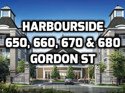Harbourside Low Rise Condominiums in Whitby 650 660 670 & 680 Gordon St