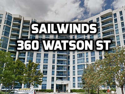 Sailwinds 360 Watson St High Rise Whitby Condo in Durham