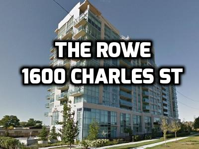 The Rowe High Rise Whitby Condo in Port Whitby 1600 Charles St Durham