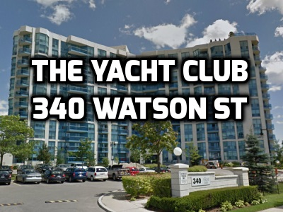 The Yacht Club 340 Watson St Port Whitby Condo in Durham