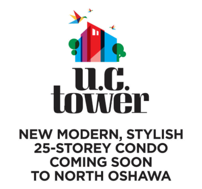 UC Tower 25 Storey Highrise Oshawa Condo – Preconstruction