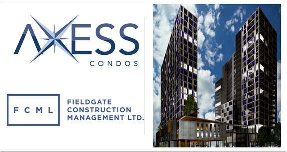 2 Condo Buildings Axess Condos in Pickering