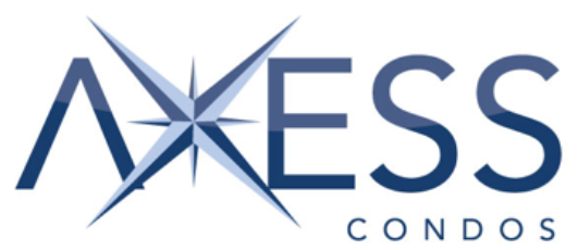 Logo for Axcess Condos in Pickering Town Centre, Fully Accessible Condominiums