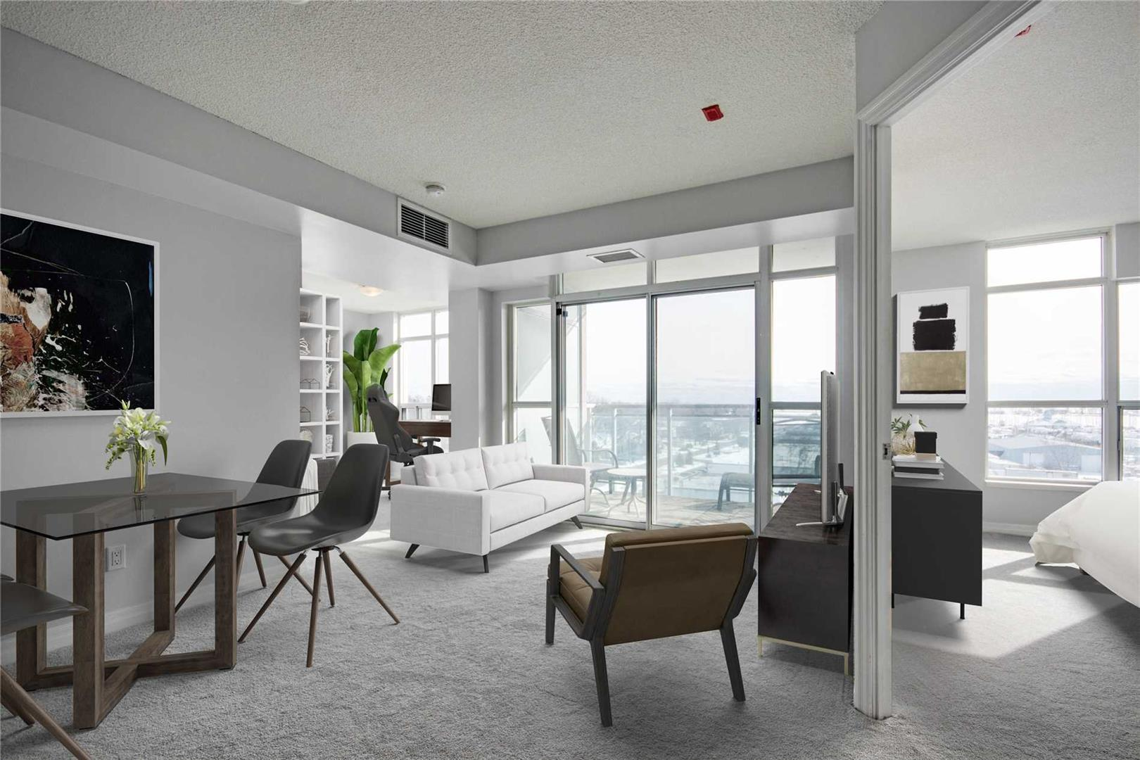 Fabulous 1+1 Bdrm Whitby Condo 'The Rowe' Just Steps to Lake Ontario & Transit