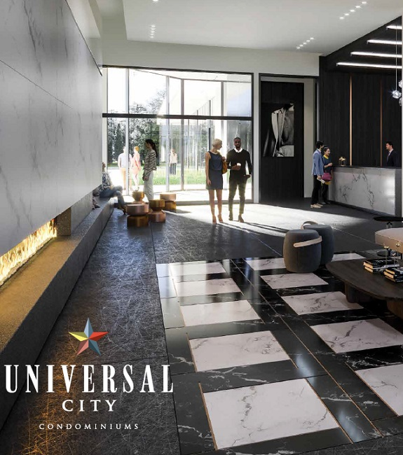 Concept Lobby Entrance Universal City Condominium Pickering