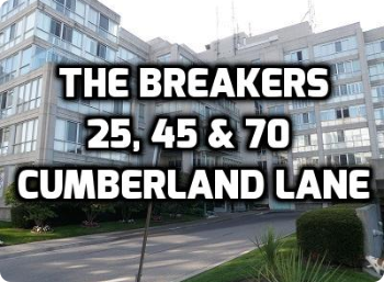 Click For The Breakers 25, 45 & 70 Cumberland Lane Ajax Condo in Durham