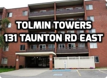 Click For Info on Tomlin Towers 131 Taunton Rd East Oshawa Condo in Durham Real Estate