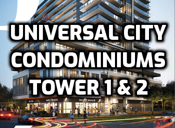 Click For Info on Universal City Condominiums Tower 1 & 2 Pickering Condo