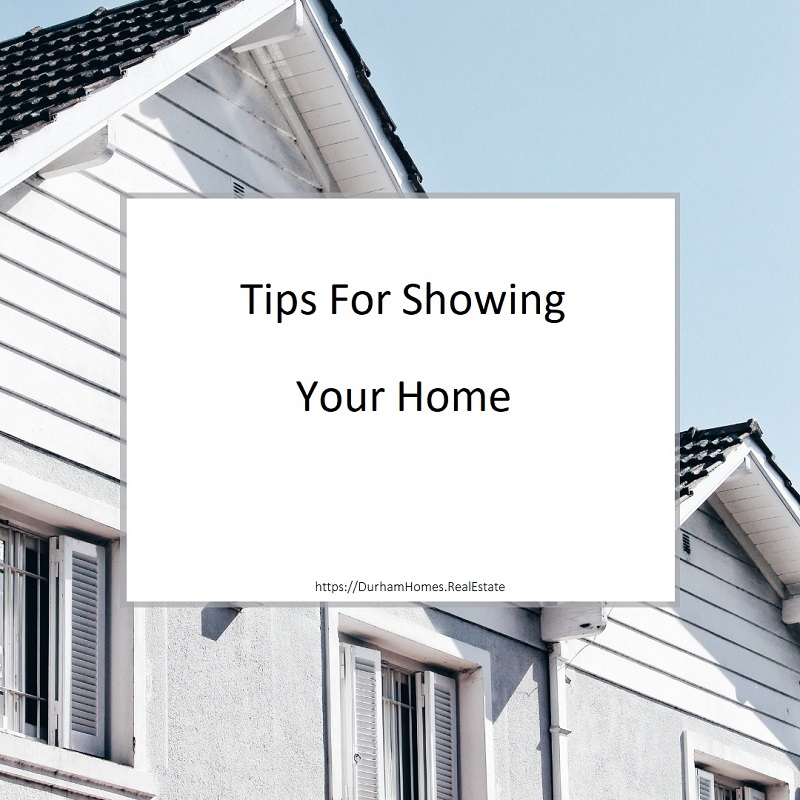 Tips For Showing Your Home
