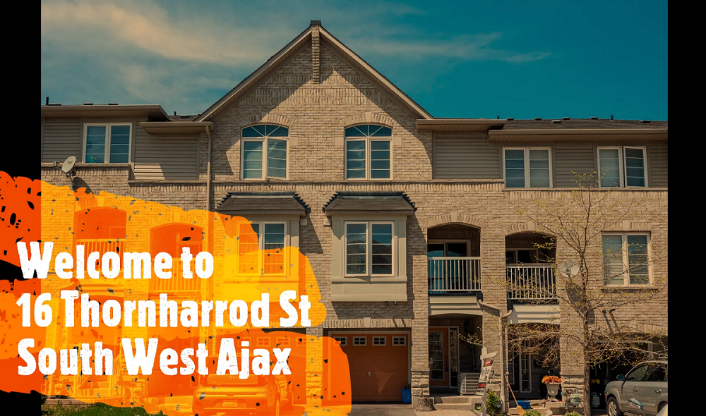 New Price – 2 Bdrm 2 Bath Freehold Townhome in Popular South West Ajax
