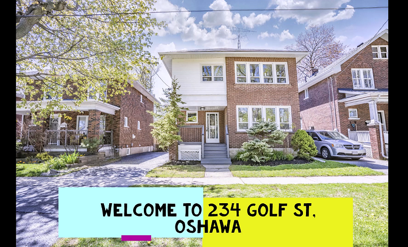 Fully Renovated 4+1 Beds, 4 Bath Detached Oshawa Home