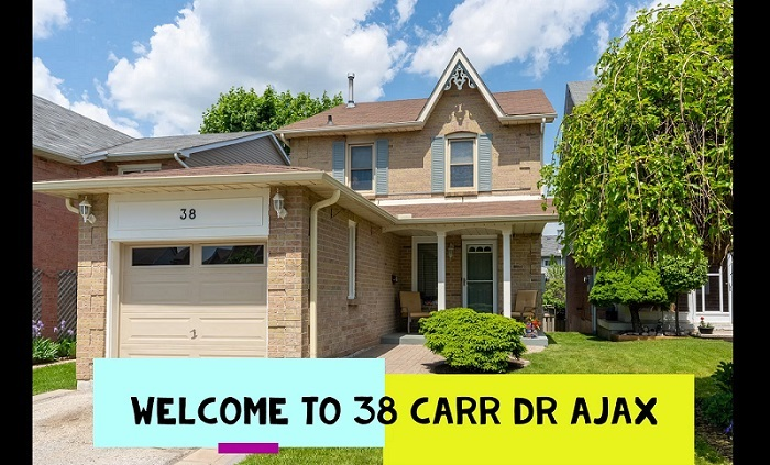 Beautiful 3 Bed, 2 Bath Detached Ajax Home For Sale