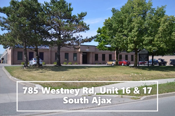 Spacious & Clean Industrial Space For Lease in South Ajax