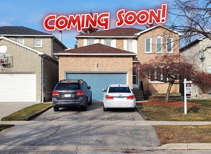Coming Soon! Beautiful 3 Bed, 3 Bath Detached Ajax Home