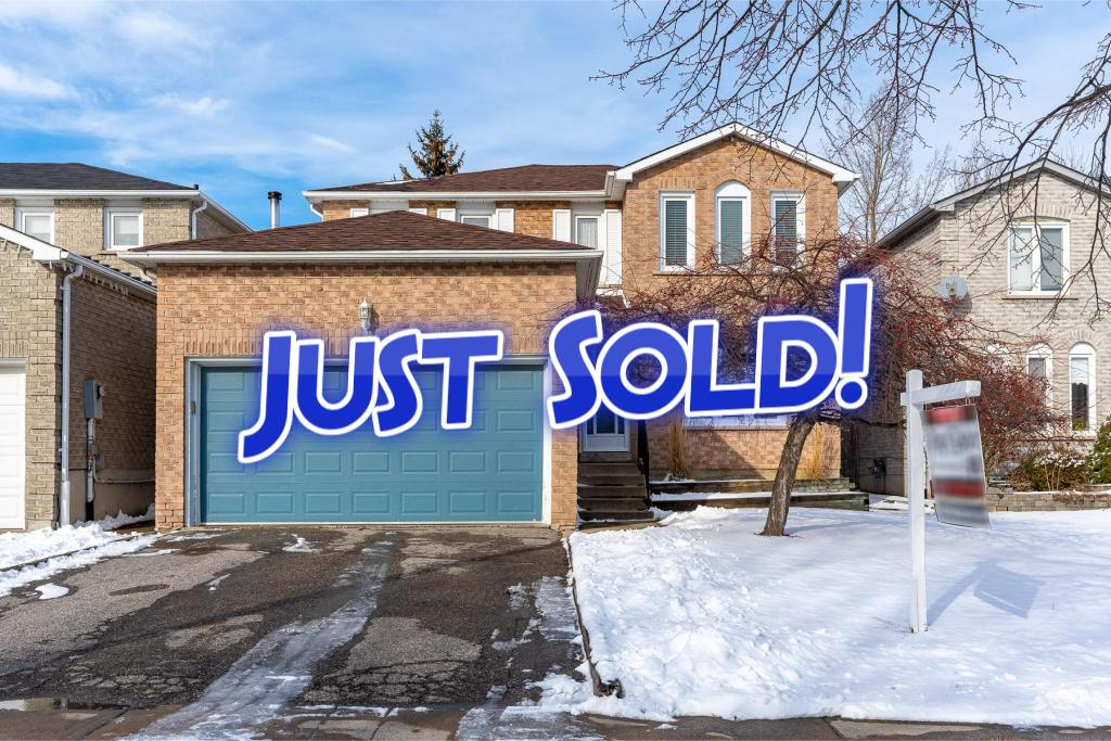 SOLD! 77 Marshall Cres Ajax – Beautiful 3+2 Beds, 3 Bath Detached Home